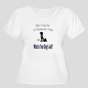 I'm a cadaver dog Plus Size T-Shirt