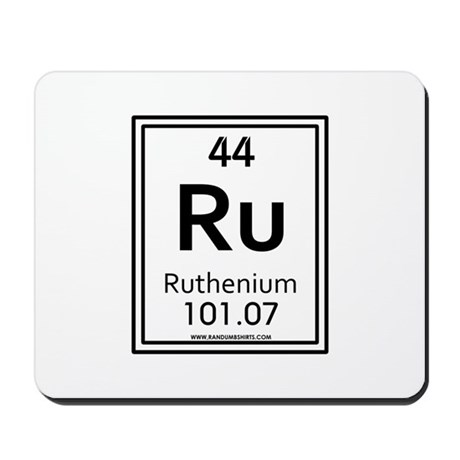 Ruthenium Mousepad