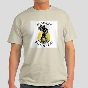 Ash Grey Migrant Filmmaker v.5 T-Shirt