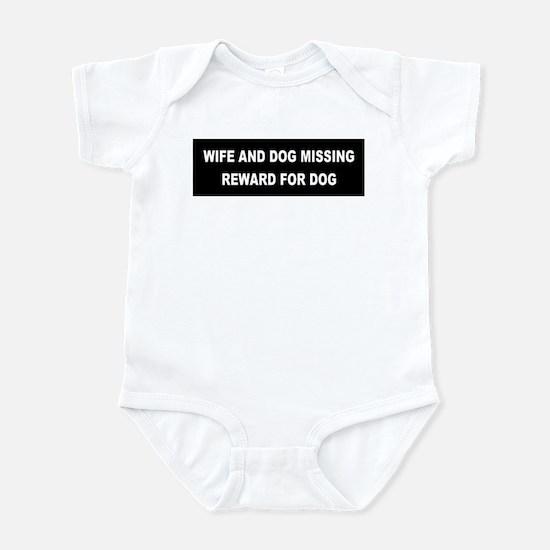 Wife & Dog Missing... Infant Creeper