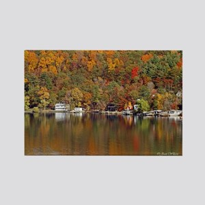 Lakeside Reflections Rectangle Magnet
