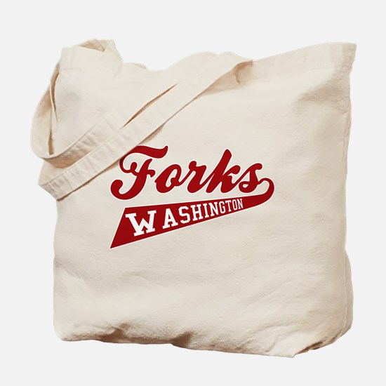 Twilight Forks Washington Tote Bag