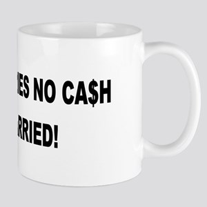 Driver Carries No Cash - He's Married! Mug