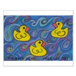 Rubber Duck Small Poster