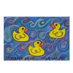 Rubber Duck Postcards (Package of 8)