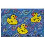 Rubber Duck Large Poster