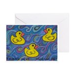 Rubber Duck Greeting Cards (Pk of 10)