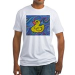 Rubber Duck Fitted T-Shirt