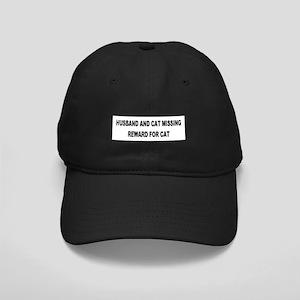 Husband & Cat Missing... Black Cap