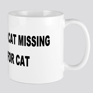 Husband & Cat Missing... Mug
