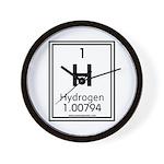 Hydrogen Wall Clock