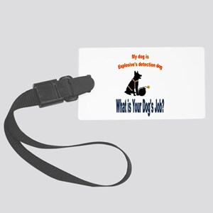 explosives detection k9 Luggage Tag