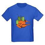 Salmonella Party Kids Dark T-Shirt