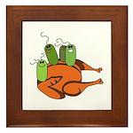Salmonella Party Framed Tile