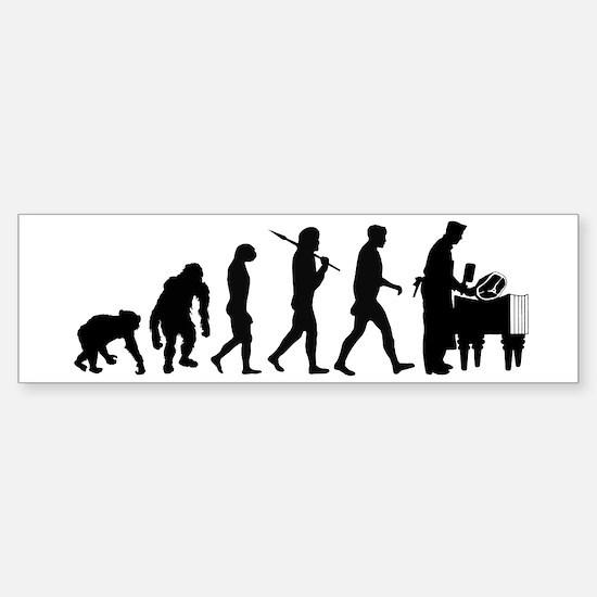 Butcher Evolution Sticker (Bumper)