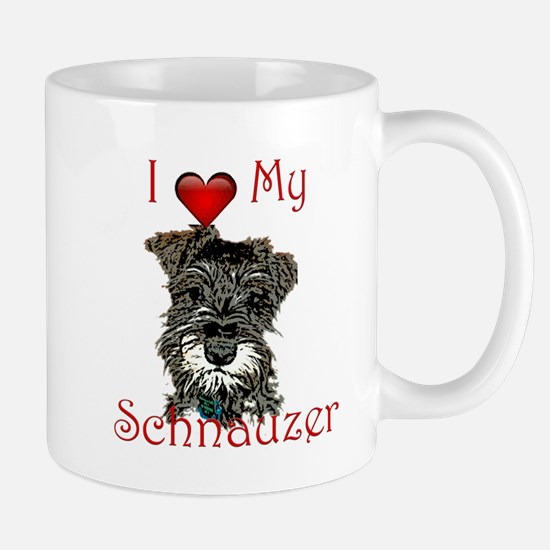 Cute Minature schnauzer Mug