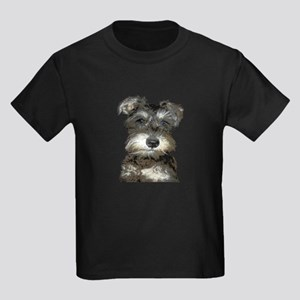 Miniature Schnauzer Kids Dark T-Shirt