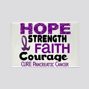 HOPE Pancreatic Cancer 3 Rectangle Magnet