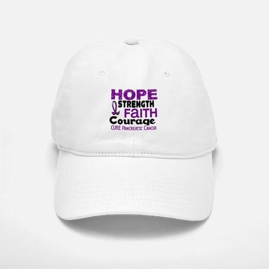 HOPE Pancreatic Cancer 3 Baseball Baseball Cap
