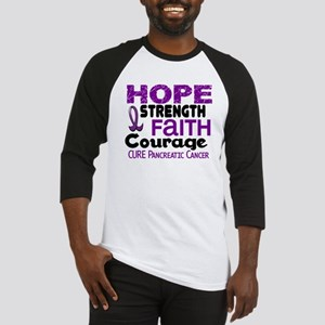 HOPE Pancreatic Cancer 3 Baseball Jersey