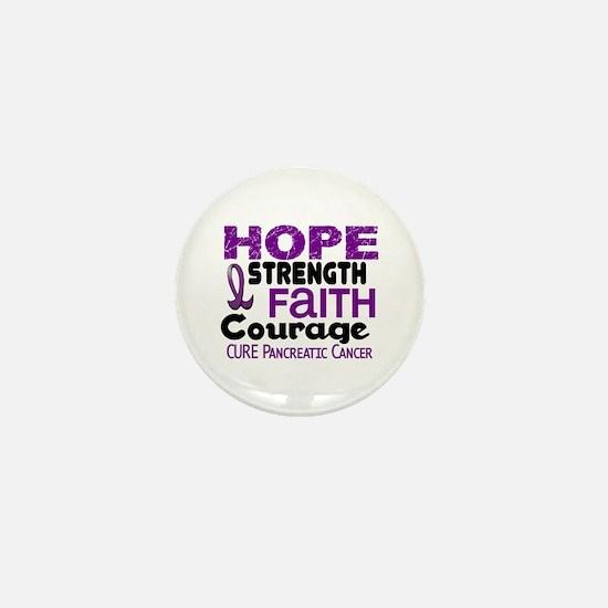 HOPE Pancreatic Cancer 3 Mini Button