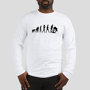 Cement Mixer Long Sleeve T-Shirt