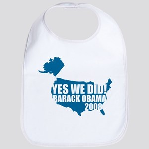 Obama Yes We Did Bib