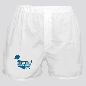 Obama Yes We Did Boxer Shorts