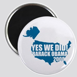Obama Yes We Did Magnet