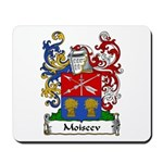 Moiseev Family Crest Mousepad