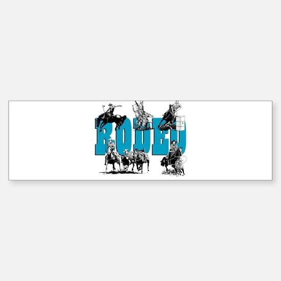Rodeo Bumper Bumper Bumper Sticker