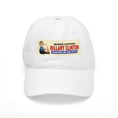 Women Support Hillary Clinton Baseball Cap