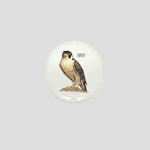Peregrine Falcon Bird Mini Button