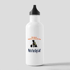 I'm an explosives detection dog Water Bottle