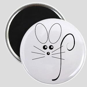 Black Mouse Magnet