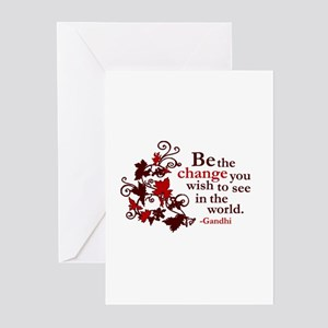 Gandhi Greeting Cards (Pk of 10)