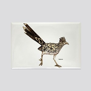 Roadrunner Bird Rectangle Magnet