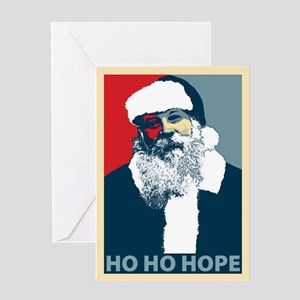Ho Ho Hope Greeting Card