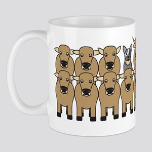 ACD and Cattle Mug