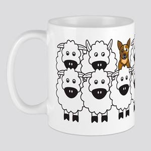 Cattle Dog and Sheep Mug