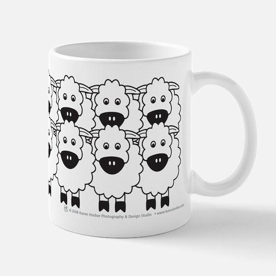 Cattle Dog and Sheep Mug