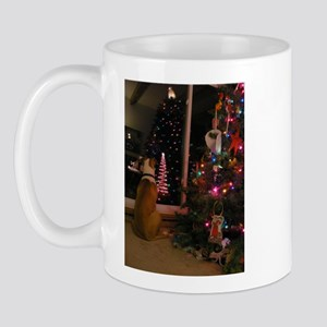 American Bull Dog Christmas Mug