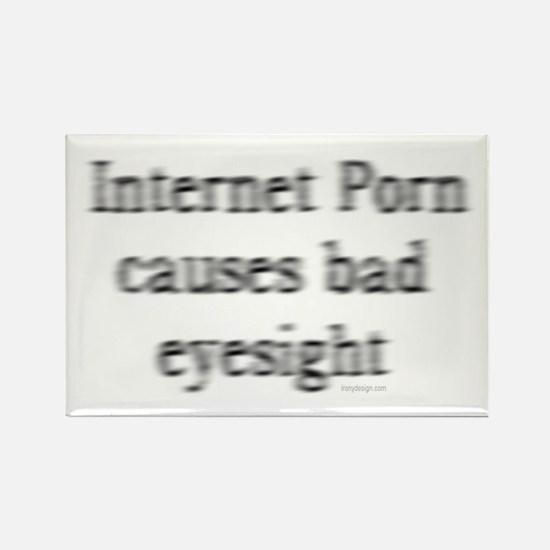 Bad Eyesight Rectangle Magnet