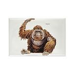 Orangutan Ape Rectangle Magnet (10 pack)