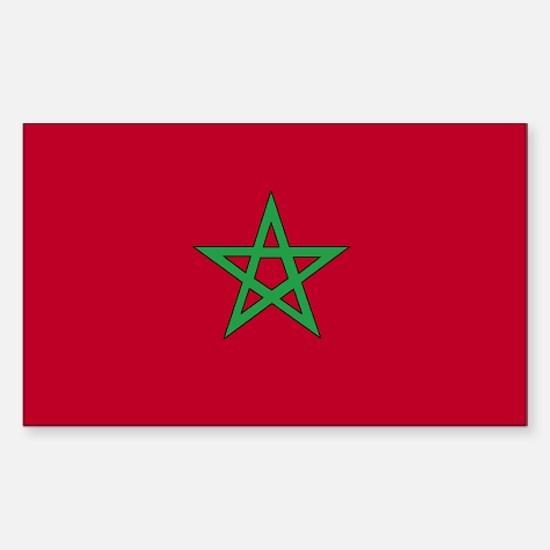 Morocco Rectangle Decal
