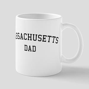 Massachusetts Dad Mug