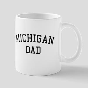 Michigan Dad Mug