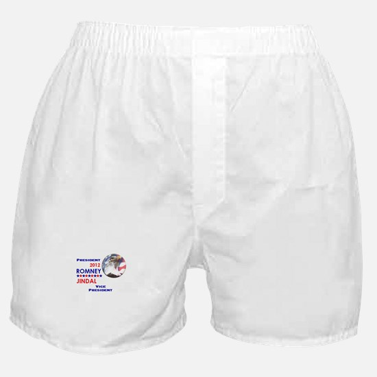 Romney Jindal 2012 Boxer Shorts