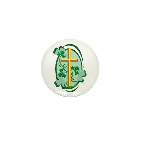 Irish Cross Mini Button (10 pack)