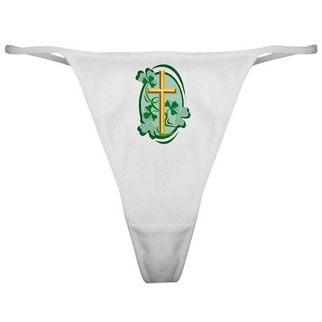 Irish Cross Classic Thong